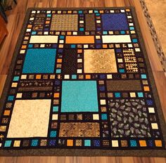 A filmstrip quilt variation; proportions can be my own