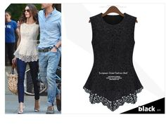 New-2014-Spring-Fashion-Casual-dresses-Women-Lined-100-Cotton-Lace-European-American-Sexy-Sleeveless-Vest.jpg 920×721 pixels