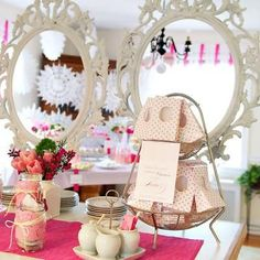 Tea Party Baby Shower {girl}  Tip Junkie Party Ideas Baby Tea, Baby Shower Vintage, Bridal Shower Tea, Tea Party Bridal Shower, Baby Shower Parties, Baby Baby, Girl Parties, Wedding Showers, Tea Parties