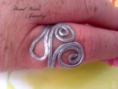 FotografíaAdaptable aluminum ring Anillo de Aluminio Adaptable  4.00 www.facebook.com/HandMade.HechoaMano