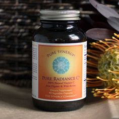 Pure Radiance C - whole food vitamin C recommended by the Healthy Home Economist. 120 g powder $26.95