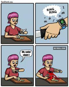 Le problème avec la apple watch...
