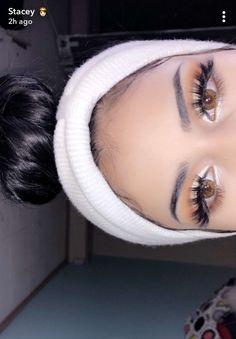 16 Tricks That Make Your Eyes Look Amazing Cute Makeup, Glam Makeup, Gorgeous Makeup, Pretty Makeup, Skin Makeup, Makeup Inspo, Makeup Inspiration, Beauty Makeup, Eyeshadow Looks