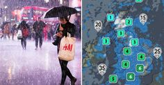 UK weather: Fierce winds and heavy overnight rain set to cause flooding and delays on trains for commuters/Weather warnings have been issued across large parts of the country with snow also forecast in some areas