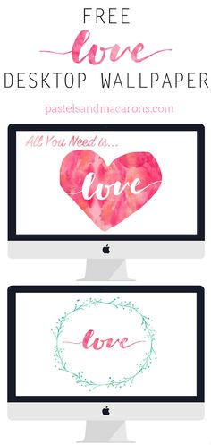 love these gorgeous free desktop wallpapers for Valentine's Day!