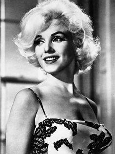 Marilyn Monroe Floral Dress Premium Art Print