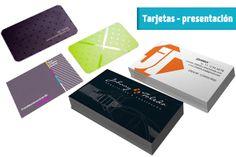 Tarjetas de presentacion creativas! Office Supplies, Tags, Creativity