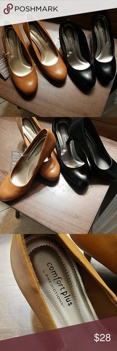 e6cccbd2cb2a TWO PAIRS OF PUMPS.NWT Two beautiful pair of comfort plus