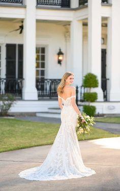 Modern Corset-Inspired Wedding Gown - Martina Liana