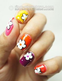 15-Easy-Simple-Spring-Flower-Nail-Art-Designs-Trends-Ideas-2013-4