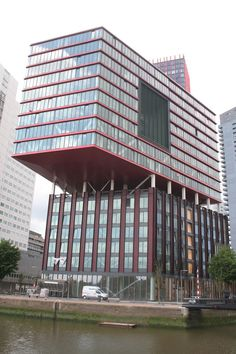 Architecture Arquitecture Building Building Exterior Built Structure City City Life Development Exterior Façade Holland Low Angle View Modern Modern Architecture Office Building Red Roterdam Rotterdam Skyscraper Tall Tall - High Tower Urban Window