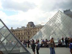 Louvre Oh The Places You'll Go, Crowd, Louvre, France, Paris, Building, Awesome, Travel, Montmartre Paris