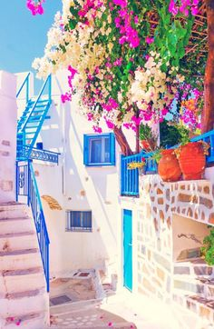 The beauty of Amorgos in Greece