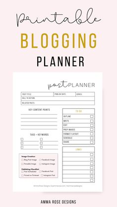 Discover recipes, home ideas, style inspiration and other ideas to try. Planner Template, Printable Planner, Blog Post Template, Blogger Templates, Printables, Schedule Templates, Free Printable, Blog Planner, Budget Planner