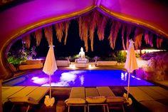 Ibiza retreats Casa Gazebo, Ibiza, swimming pool  at night http://www.thefeel.org/