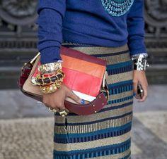 Paris fashion week STREET STYLE DETAILS!