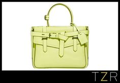 Love this bag found on @TheZoeReport - great styling and lovely spring/summer color; inexpensive, too.