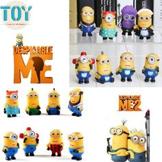 Find More Action & Toy Figures Information about New Minions Toys Despicable…