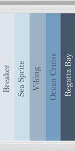 Mod The Sims - Collection of blue hued walls inspired by Behr Paint
