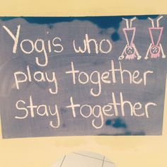 Yoga is even better with s friend. Photo taken by @yogapadonline on Instagram www.yogapad.com.au