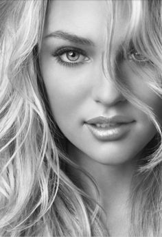 beautiful girl - blond haar - portret