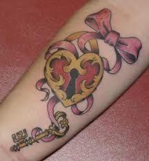 lock and key tattoos on pinterest key tattoos locks and keys. Black Bedroom Furniture Sets. Home Design Ideas