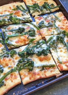 Here's a yummy twist on the traditional pizza!