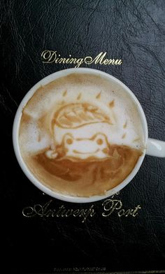 Frog Latte Art