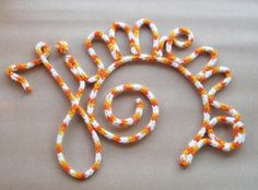 Cómo hacer letras con lana | Aprender manualidades es facilisimo.com