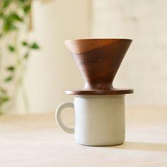 Walnut Coffee Dripper