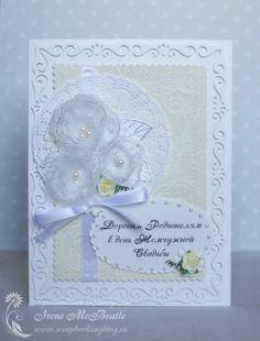 Card - Wedding Day Anniversary greetings.