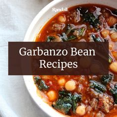 From soups and salads to sandwiches and even desserts, beans make a terrific addition to any meal. Get the tastiest bean recipes here! Healthy Family Meals, Healthy Recipes, Garbanzo Bean Recipes, Soup And Salad, Recipe Using, Organic Recipes, Chili, Salads, Sandwiches