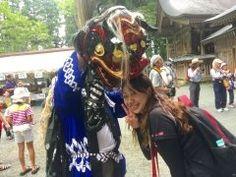 今日は阿蘇郡高森町の草部吉見神社の夏季大祭でした獅子さんに頭をかじられました()  いい事ありそう tags[熊本県]