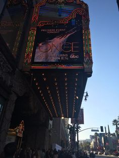 Once Upon a Time S4 Premiere at the El Capitan