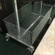 Basket-Equipped Hangrail Returns Cart