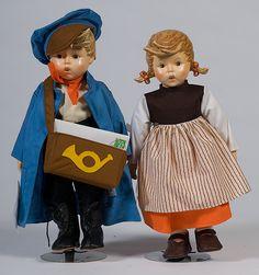 Hummel Dolls Antique Dolls, Vintage Dolls, Tinkerbell Pumpkin, Goebel Figurines, Sarah Kay, Holly Hobbie, Hello Dolly, Doll Houses, Beautiful Dolls