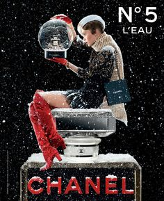 Lily Rose Depp is the Face of Chanel N°5 L'Eau Fragrance Holiday 2019
