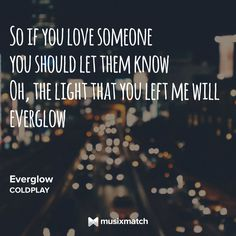 Everglow/Coldplay