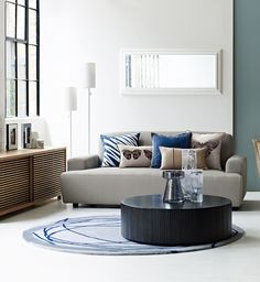 A selection of objet and cushions by Conran Interior Design, Furniture, Home Accessories, Home, Interior, Home Furniture, M And S Home, Coffee Table, Home Decor