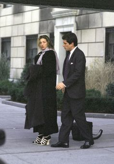 1994 – outside of Jackie's apartment | Remembering Carolyn