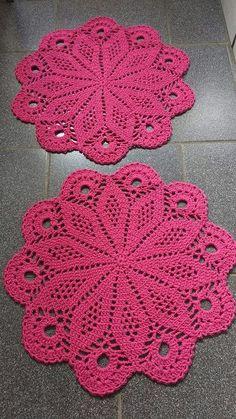 Flower crochet doilies, Crochet placemats, Cotton beige doilies, Thanksgiving gift idea - Her Crochet Free Crochet Doily Patterns, Crochet Placemats, Crochet Coaster Pattern, Crochet Motif, Hand Crochet, Free Pattern, Crochet Dollies, Cotton Crochet, Thread Crochet