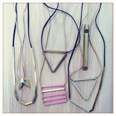 I would like to attempt to make some geometric jewelery.