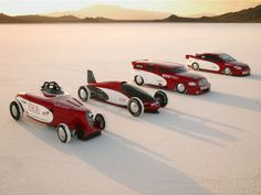 Chevrolet Sets Three New Land Speed Records at the Bonneville Salt Flats