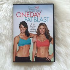 Tone it up One Day Fat Blast work out DVD Featuring Karena & Katrina from tone it up! 2 fat burning calorie smashing work outs. DVD only used one time and is in perfect condition. Tone it up! Other