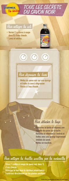 ♥ Pinterest : Mutine Lolita ♥ Tous les secrets du Savon noir #astucieux