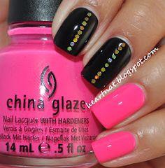 heartnat: OPI Black Onyx & China Glaze Beauty Within