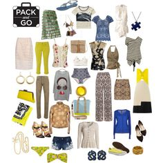 Packing for Holidays by taci42 on Polyvore featuring мода, Roksanda Ilincic, NIC+ZOE, Blue Bay, Roland Mouret, Scotch & Soda, Izabel London, Mismash, Ann Demeulemeester and Polo Ralph Lauren