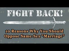 """10 Reasons Why Homosexual """"Marriage"""" is Harmful and Must be Opposed - TFP Student Action"""