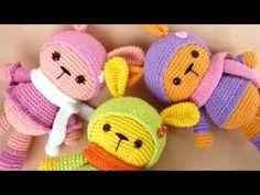Амигуруми: схема Зайки Марунито. Игрушки вязаные крючком! - YouTube
