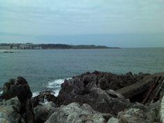 #travel #santander #cantabria playa del sardinero beach península de la magdalena